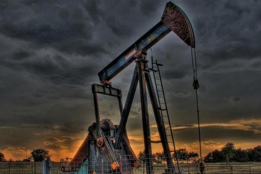 An Oklahoma oil well.