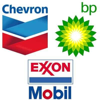 bp chevron exxon
