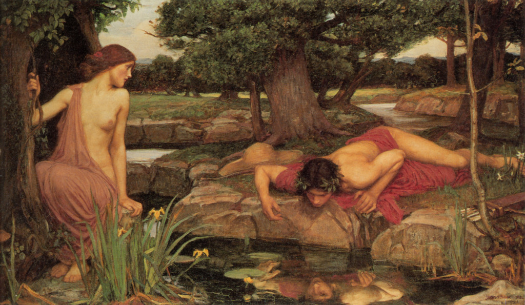 Echo and Narcissus (1903), a Pre-Raphaelite interpretation by John William Waterhouse