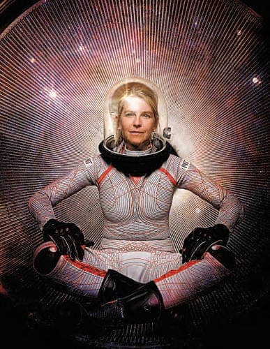 an astronaut in her space suit weighs 300 - photo #32