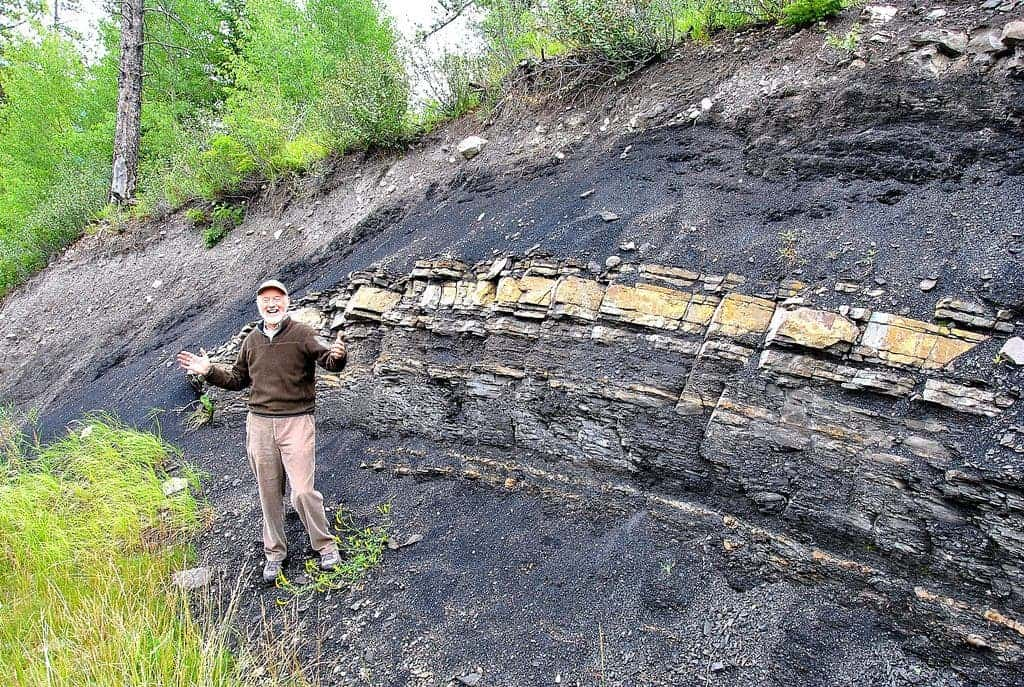 Geological field work is a crucial aspect of the profession.