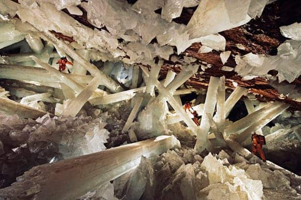A big part of geology focuses on the study of crystals - but usually they're really small. However, crystals can sometimes get big too.