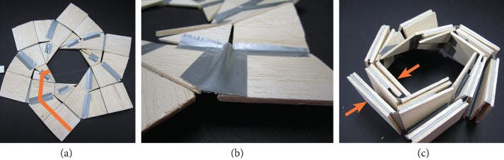 Using Origami To Solve A Space Problem