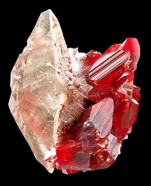 Speaking of crystals - realgar crystal.