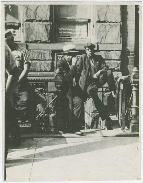 A man bearing a canning resemblance to Jay-Z. Photo: The Schomburg Center for Research in Black Culture/New York Public Library
