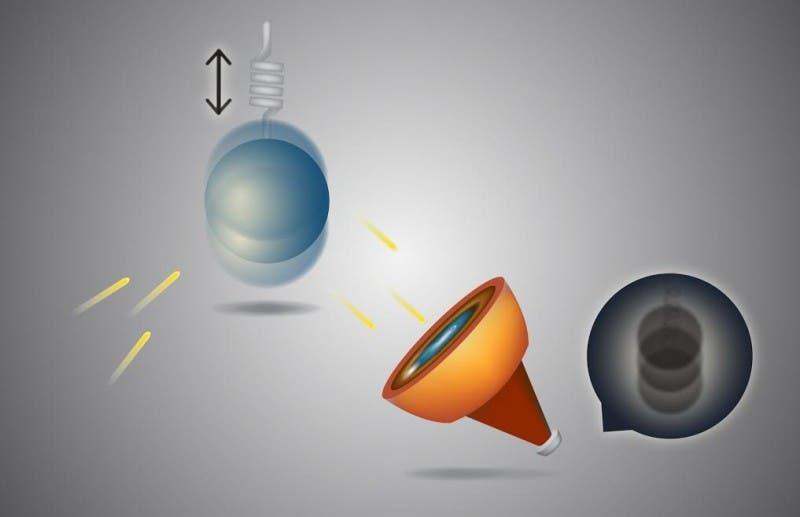 Newton force quantum scale