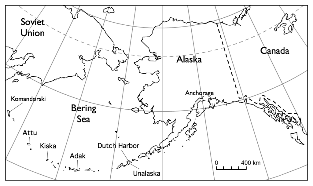Aleutian islands earthquake.