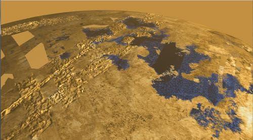 Titan Ligeia Mare.