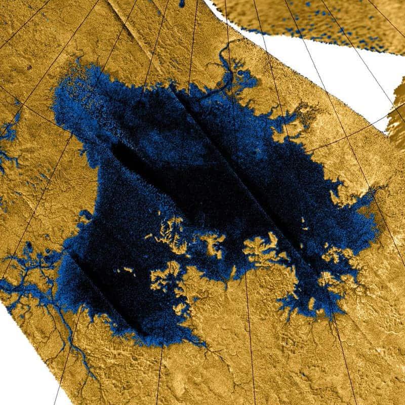 Titan's Ligeia Mare.