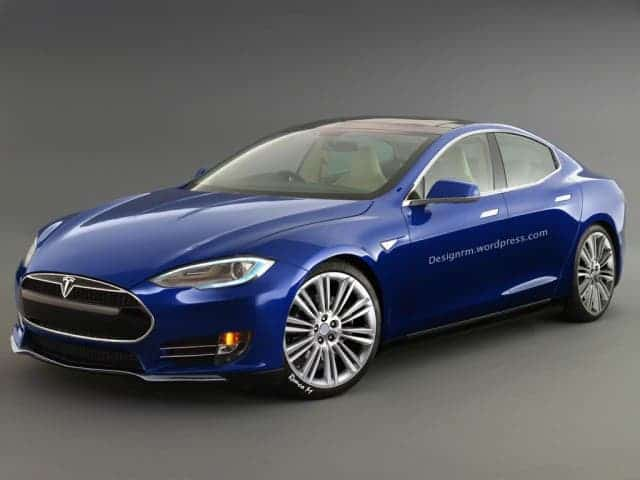 This is an official, fan-made rendition of how the Tesla Model 3 might look like.