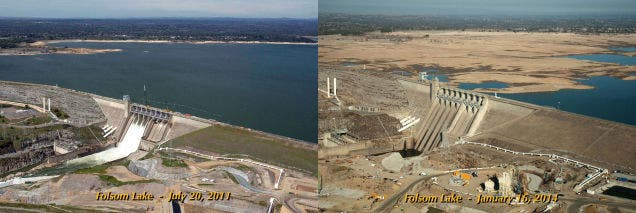 How bad is California's drought? Just look above. Photo: Wiki