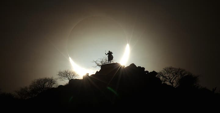 Hybrid Solar Eclipse 2 by Eugen Kamenew (Germany)
