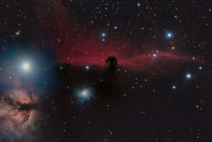 The Horsehead Nebula (IC 434) by Shishir and Shashank Dholakia, aged 15 (USA)