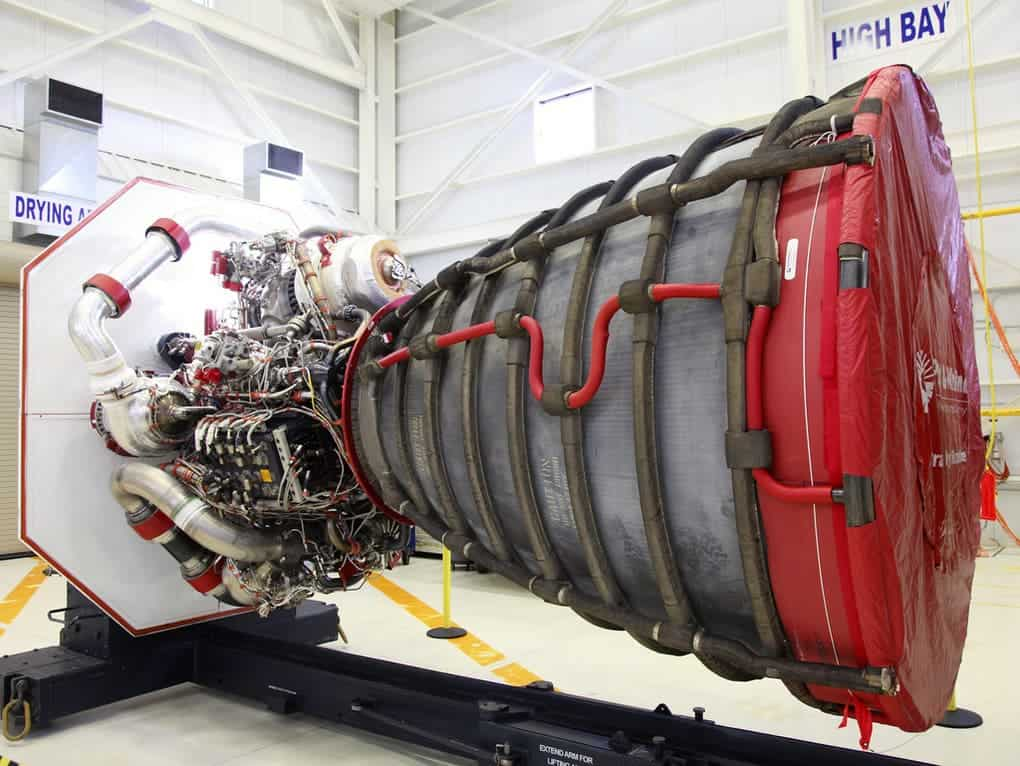 NASA's Space Launch System rocket will reuse the RS-25D engine that took the Space Shuttle into orbit before its retirement in 2011. (Credit: NASA/KSC)