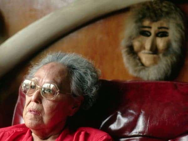 Chief Marie Smith Jones, the last speaker of the Eyak language in Alaska, died in 2008 at age 89. Photo: NATALIE FOBES/CORBIS IMAGES