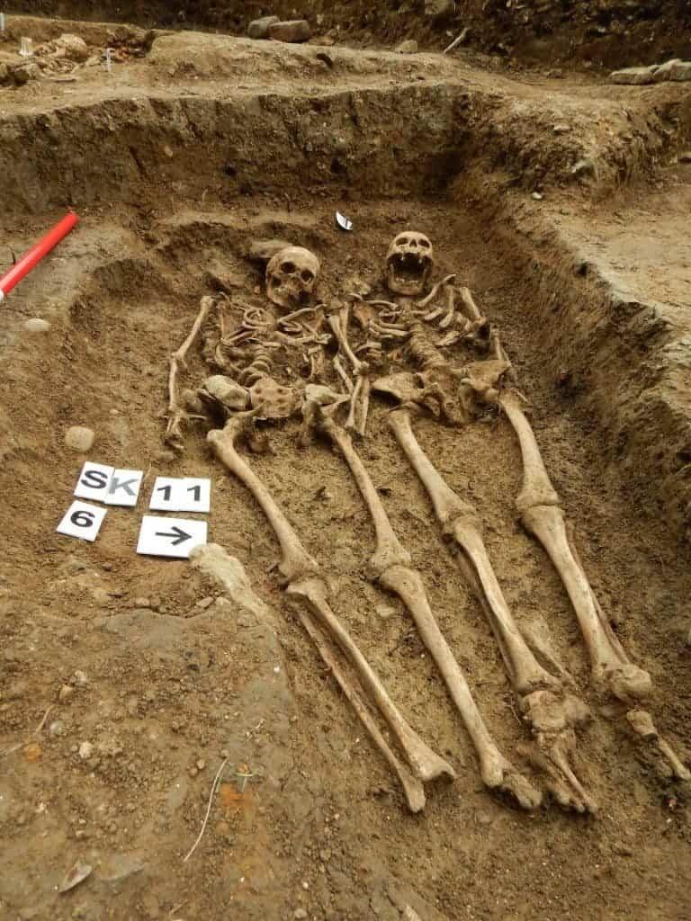 archaeology skeleton