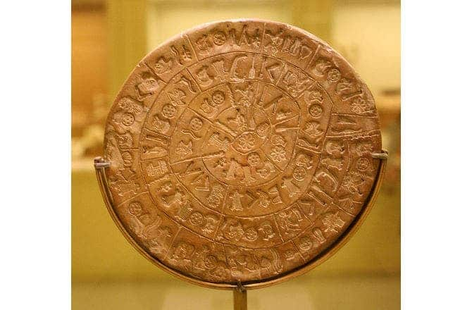 phaistos disk archaeology