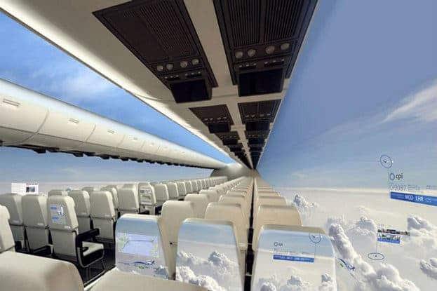 plane-interior