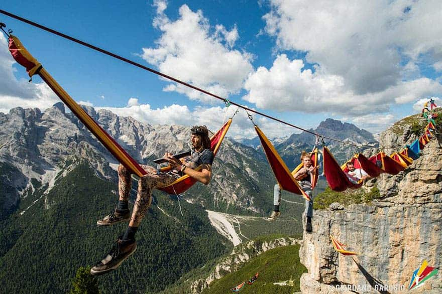 mountains slackline festival