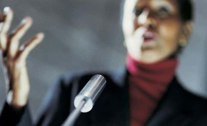 Woman-Speaker