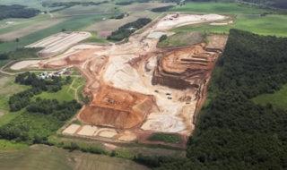 hydraulic fracking sand