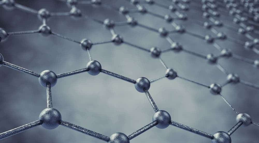 This is what perfect graphene looks like: A monolayer of carbon atoms. Image: Wikipedia