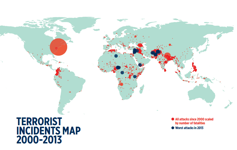 Image: Global Terrorism Index 2014
