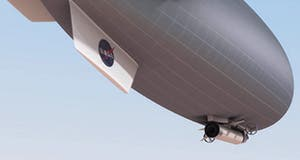 Stage 3: crewed mission stays for 30 days in airship.