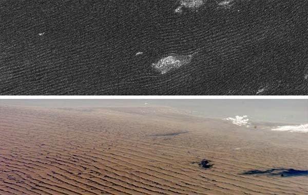 titan saturn dune