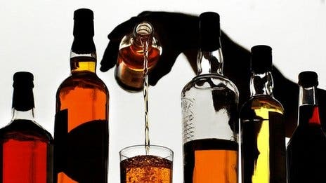 alcohol to CO2