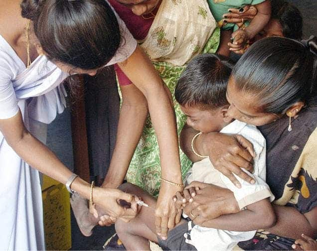 measles polio vaccine