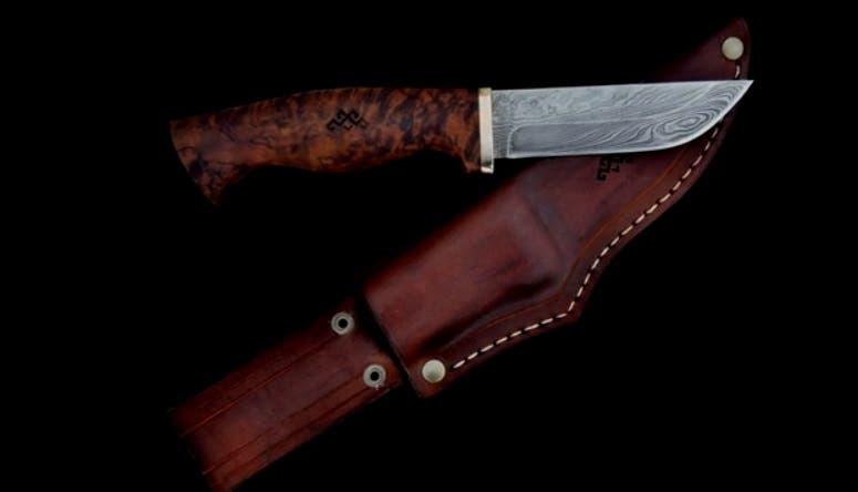 A Damascus Blade