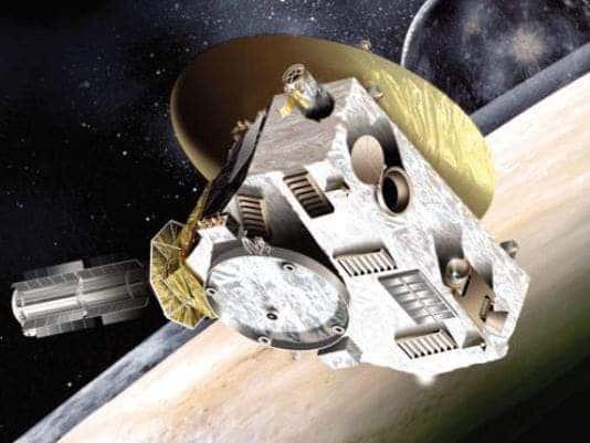 Artist impression of New Horizon. Credit: NASA