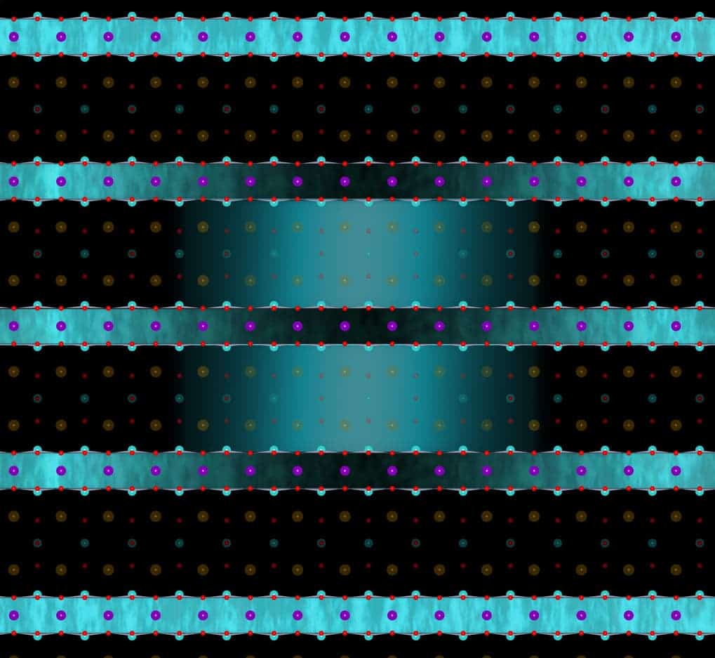 his picture shows a light-induced redistribution of interlayer coupling in YBCO. In the superconducting state, the pump light enhances the superconducting coupling between the copper-oxygen bilayers at the expense of the superconducting coupling within the copper-oxygen bilayers. A similar case is found for the normal state, that the laser light induces a superconducting coupling between the bilayers, meanwhile weakens the precursor superconducting coupling within the bilayers. Credit: Jörg Harms/MPSD,CFEL