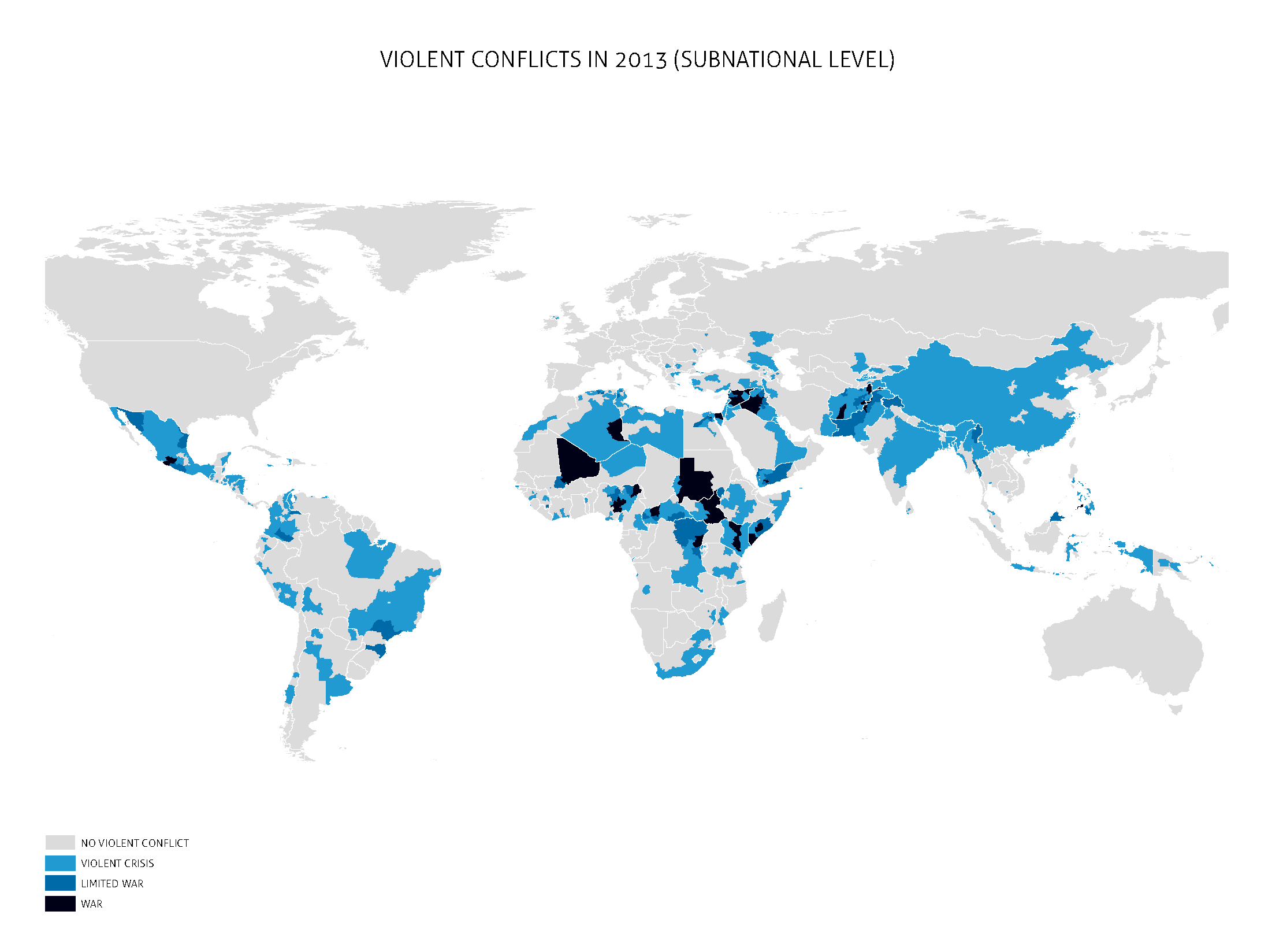 Making Sense Of The World In Maps - World wide map