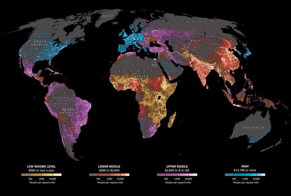 Making sense of the world in 14 Maps