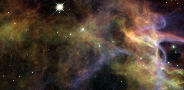 "We're all made out of ""star stuff"", and gold is no exception. Image: NASA"