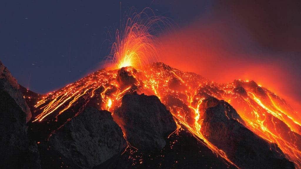 magma volcano
