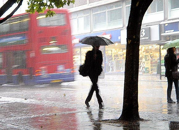 Why does it rain so much in London? Well, it\'s not that much really