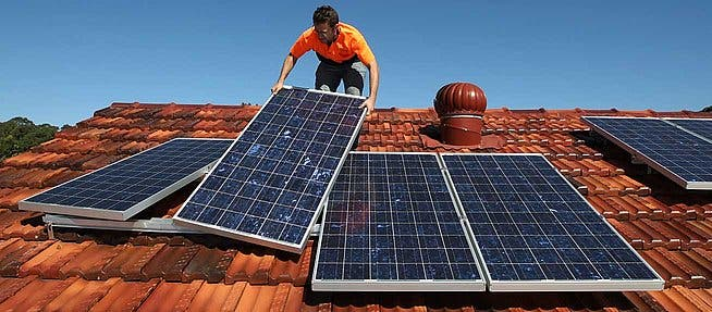 solar power installing US