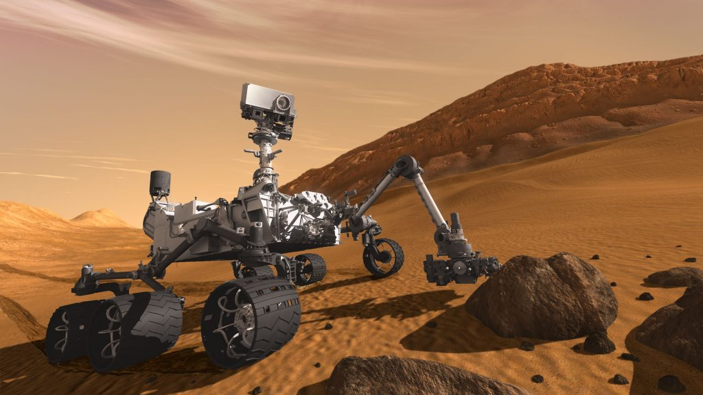 The next followup rover to Curiosity will feature a helicopter drone add-on. Image: NASA