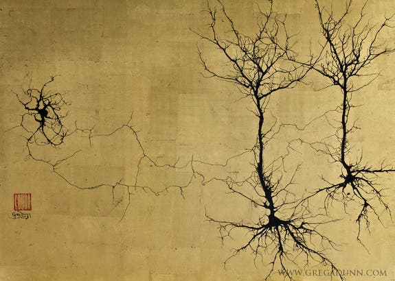 neurons-art