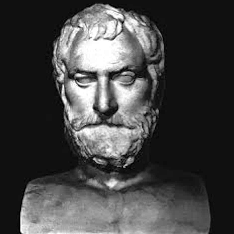 Image result for thales of miletus bust