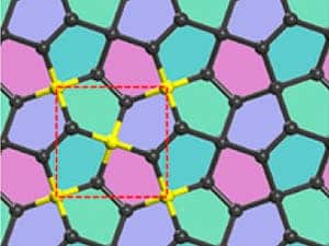 Penta-graphene would be a unique two-dimensional carbon allotrope composed exclusively of pentagons.