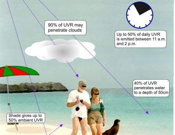 Some quick facts about UV exposure. Image: Australian Radiation Protection and Nuclear Safety Agency