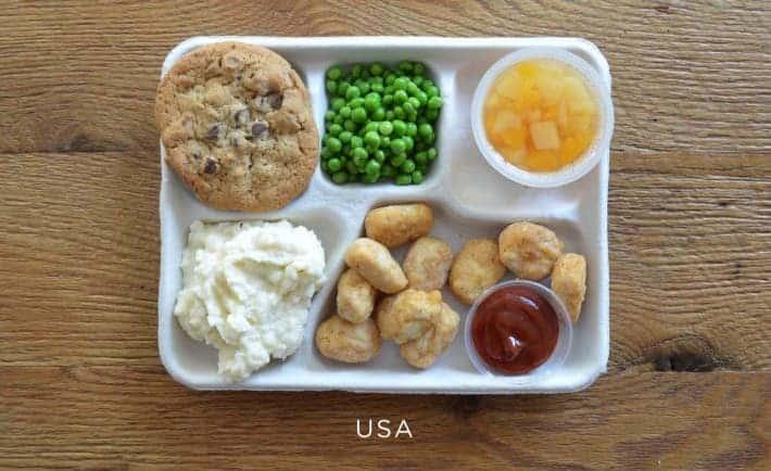 cafeteria serving usa