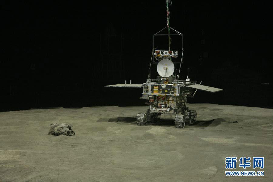 lunar rover yutu