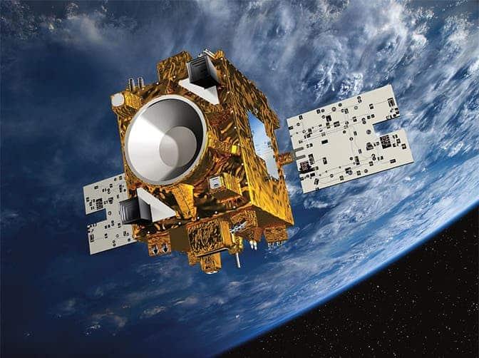 MicroSCOPE satellite