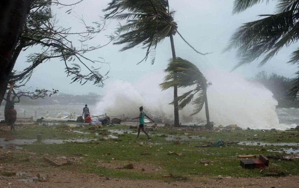 Vanuatu Pam cyclone