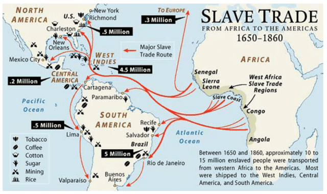 millions of africans were sent and sold to the caribbean for slavery Thousands of africans were sent to when europeans sent millions of slaves to europe from caribbean african slavery originate most african slaveries.